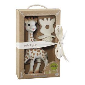 Sophie la giraffe So'Pure et Anneau de dentition.