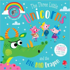 Les trois petites licornes et le grand, mauvais dragon - Édition anglaise