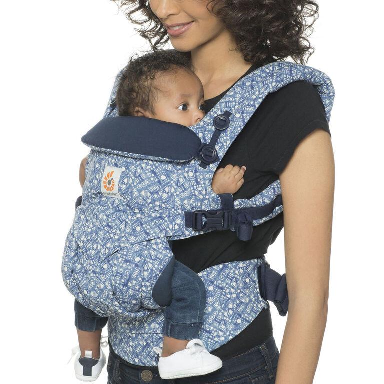 Ergobaby Omni 360 All-in-One Ergonomic Baby Carrier - Batik Indigo