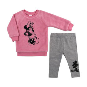 Disney Minnie Mouse 2pc Tunic Set - Pink, 24 Months