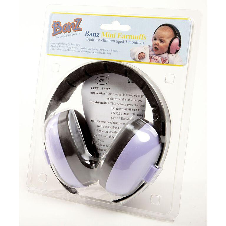 Mini protège-oreille pour bébé Banz - lilas.