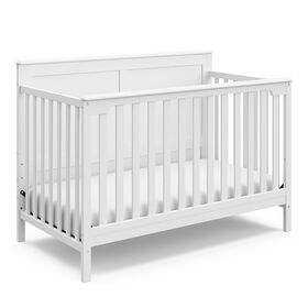 Storkcraft Alpine 4-in-1 Convertible Crib - White||Storkcraft Alpine 4-in-1 Convertible Crib - White