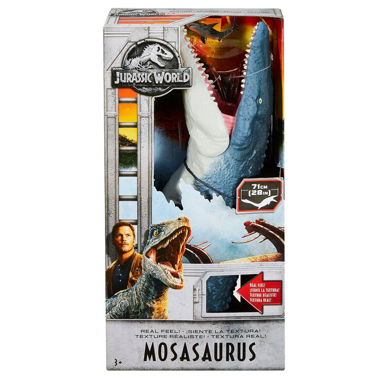 Jurassic World - Texture réaliste! - Mosasaurus.