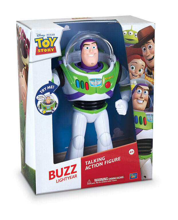 Toy Story Buzz L'Éclair Figurine D'Action Parlante.