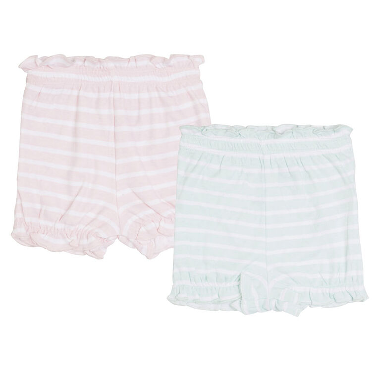 earth by art & eden Lulu 2-Piece Shorts- 18 months