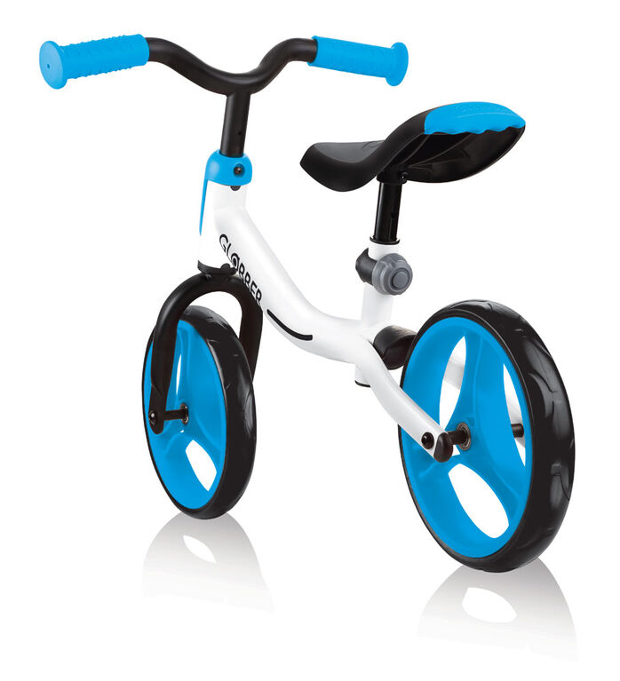 GO Vélo d'équilibre - Blanc/Bleu Ciel
