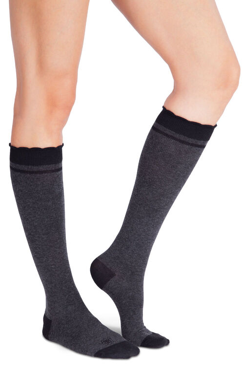 Belly Bandit Compression Socks Charcoal Size 1