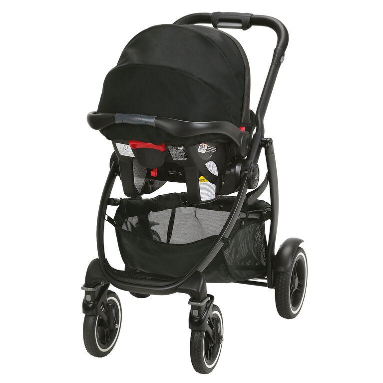 Graco EVO XT Quad Travel System - Iron - R Exclusive