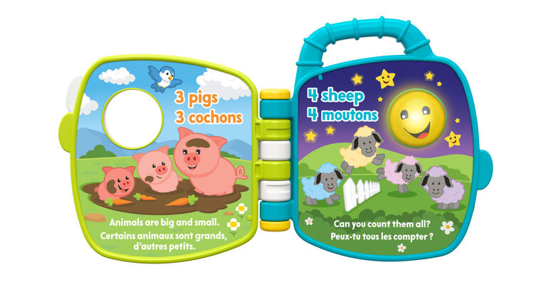 Laugh & Learn Counting Animal Friends - Bilingual Edition