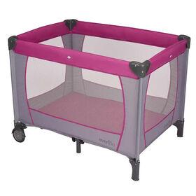 Parc d'enfant portable BabySuite Classic Evenflo - Orchidée mauve.