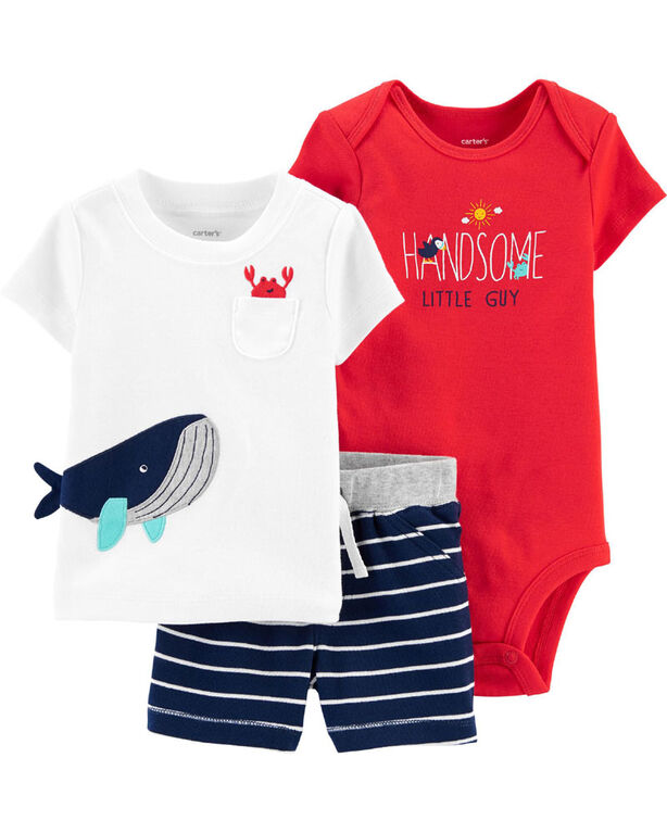 Carter's 3 piece Mommy's First Wave Set -