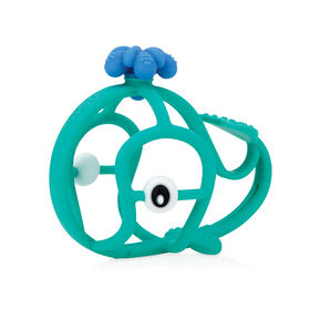 Nuby Chewy Chums Soothing Teether - Whale