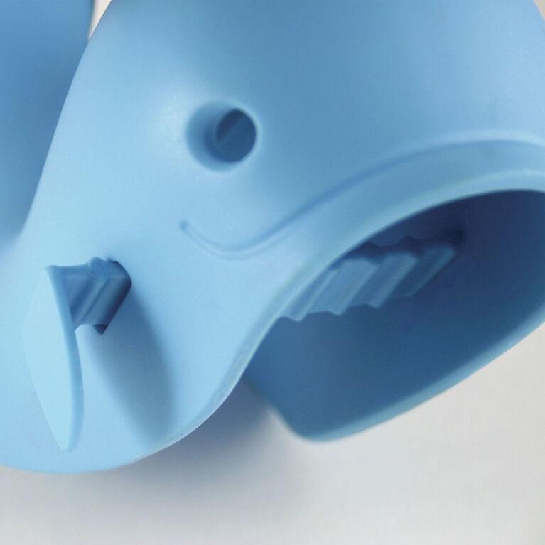 Skip Hop - Couvre-robinet de bain Moby, bleu bébé.