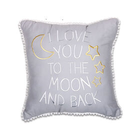 The Peanut Shell Moon and Back Pillow
