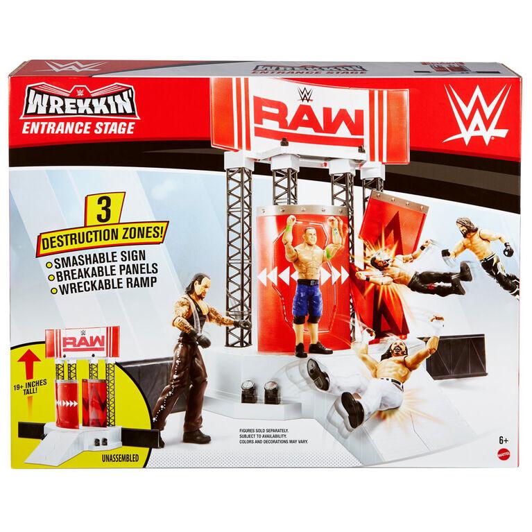 WWE - Wrekkin' - Scène D'entrée  Avec échafaudage