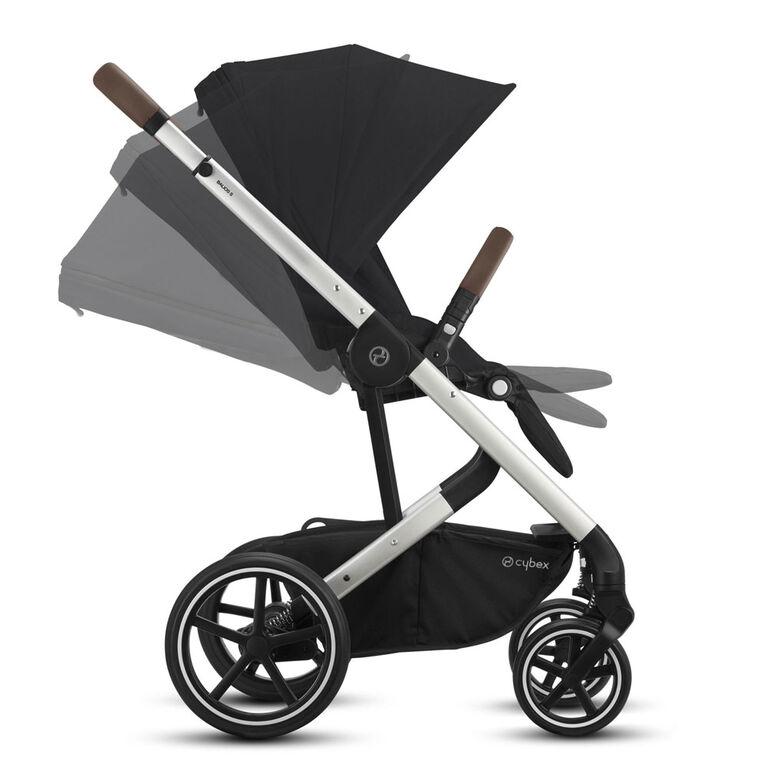 Cybex Balios S Lux Stroller- Deep Black