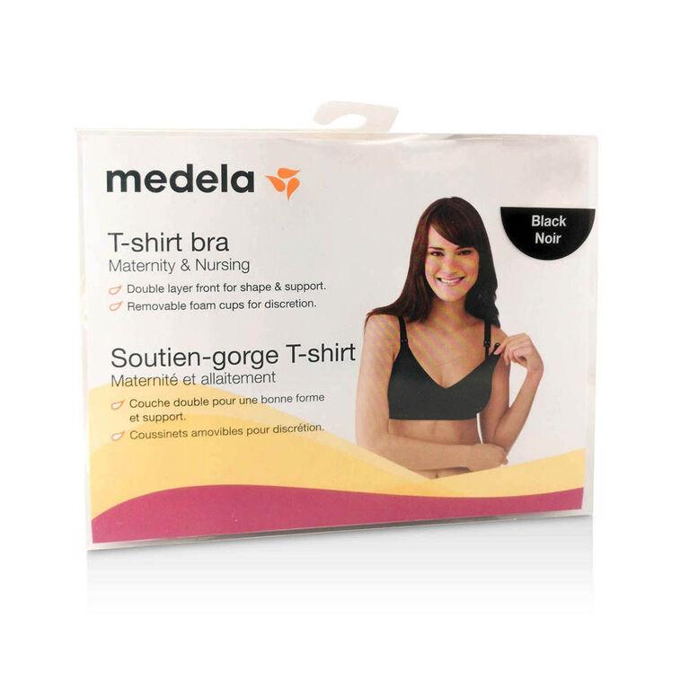 Medela T-Shirt Bra -  Black, Medium