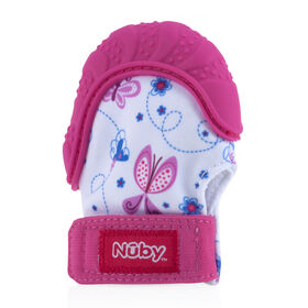 Gant de dentition Happy Hands de Nuby - Papillon.