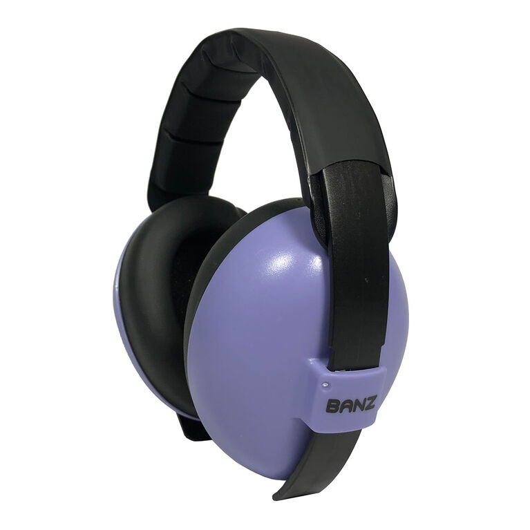 Banz - Baby Mini Earmuffs - Lilac - 0-2 yrs