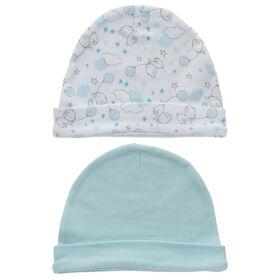 Koala Baby Esemble 2 bonnets - Ourse Bleu.