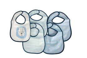 Emballages de 5 bavoirs en tissu éponge Koala Baby.