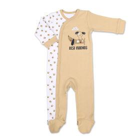 Koala Baby All Over Print Dog Paws Sleeper, Newborn