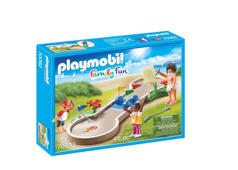Playmobil Family Fun - Mini-golf 70092