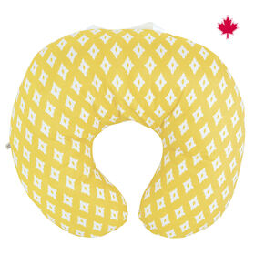 Perlimpinpin Nursing Pillow With  Removable Cover - Yellow