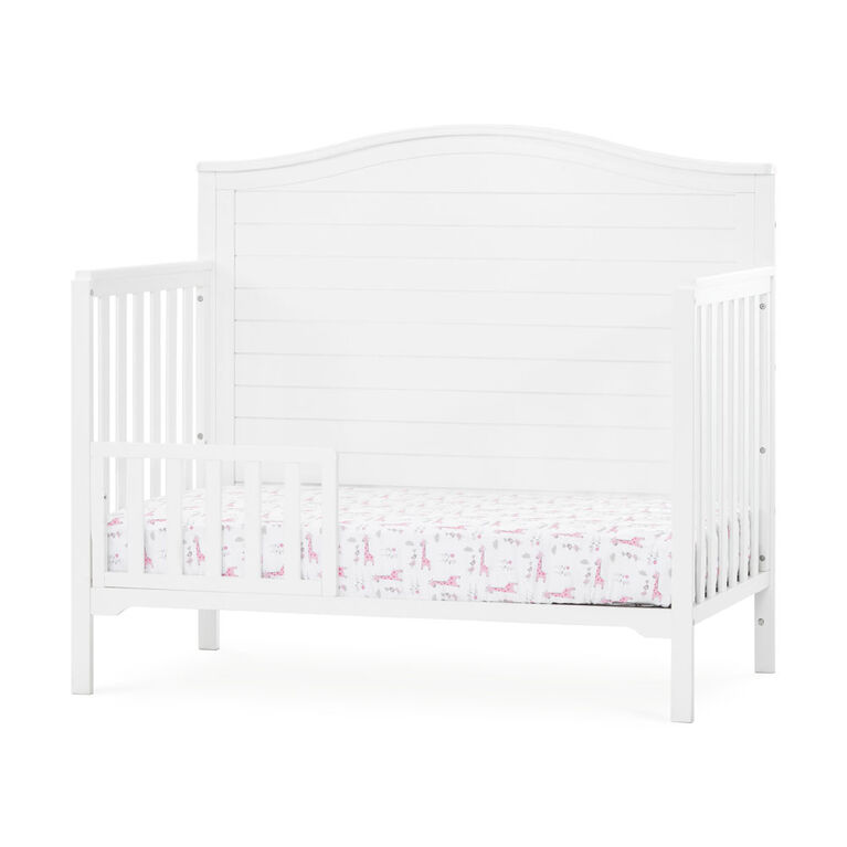 Wilmington Arch Top 4-in-1 Convertible Crib, Matte White - R Exclusive