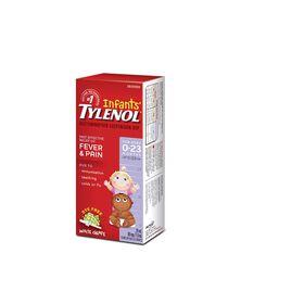 Gouttes de Suspension sans colorant pour nourrissons, raisin blanc, 24 ml, 80 mg.