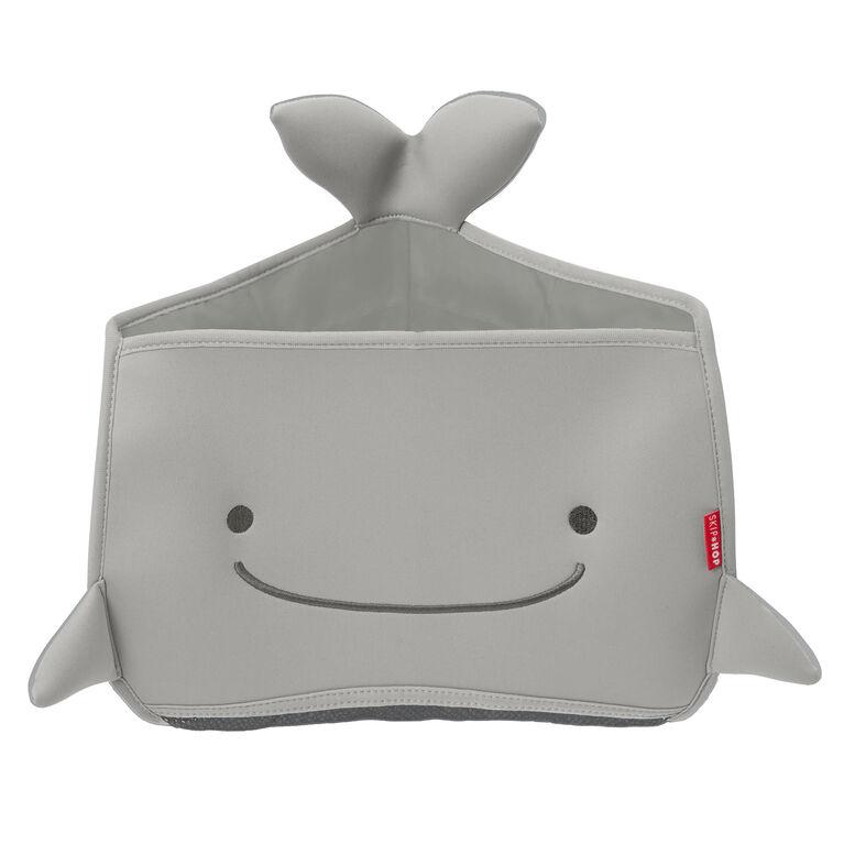 Organisateur Moby de coin de jouets de bain de Skip Hop - Gris.