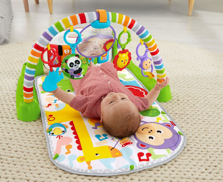 Fisher-Price - Tapis piano de luxe - Vert - Édition anglaise - Édition anglaise