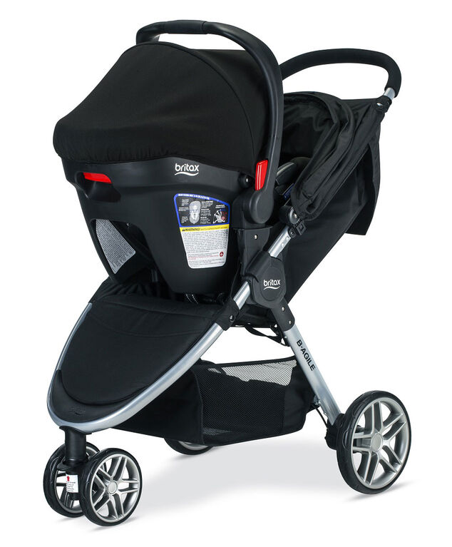Britax B-Agile & B-Safe 35 Travel System, Dual Comfort Collection - R Exclusive