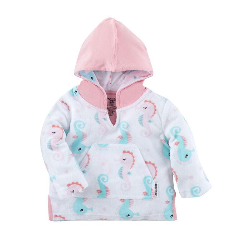 Zoocchini - Baby Swim Coverup - Seahorse - 0-12M