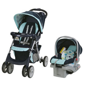 Graco Comfy Cruiser Click Connect Travel System - Stratus