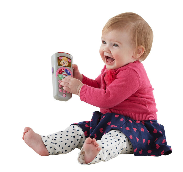 Fisher-Price Laugh & Learn Sis' Remote - English Edition