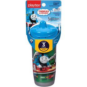 Playtex - Thomas Série Jeu Emballage de 1 verre isolant de 9 oz avec bec -  styles peuvent varié.