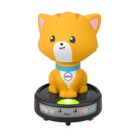 ​Fisher-Price Laugh & Learn Crawl-After Cat on a Vac - Bilingual Edition