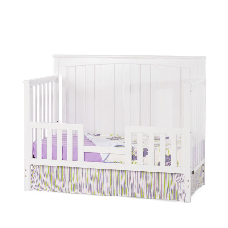 Child Craft Sheldon 4-in-1 Convertible Crib - Matte White