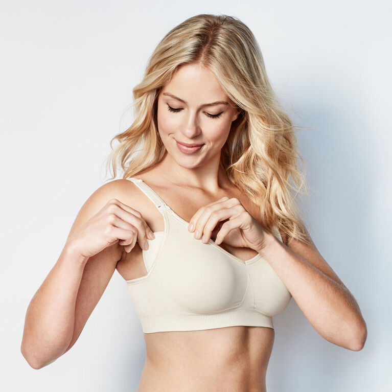 Bravado Designs Body Silk Seamless Nursing bra - Butterscotch, Medium