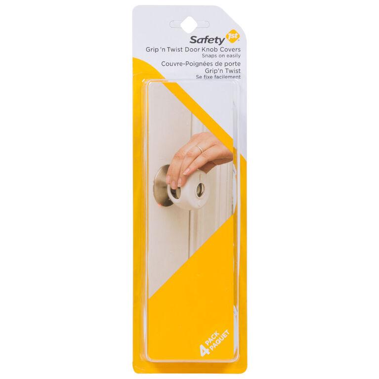 Safety 1st Grip 'N Twist Door Knob Covers - 4-Pack