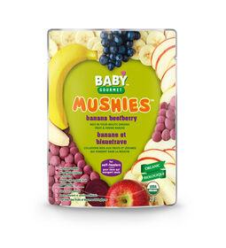Baby Gourmet Mushies - Banane et Bleuetrave.