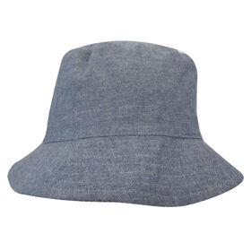 Chapeau De Seau Baby B - Chambray, Bleu, 12-24M