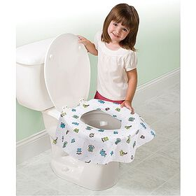 Summer Infant Paquet de 10 couvre-sièges de toilette jetables Keep Me Clean