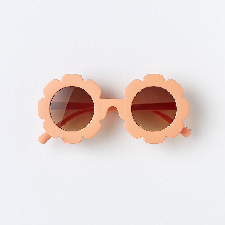 bloom sunnies, o/s kids sunglasses - bamboo