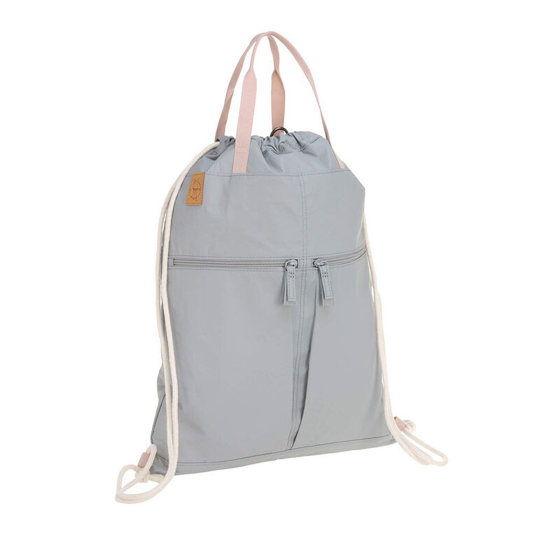 Tyve String Bag Grey