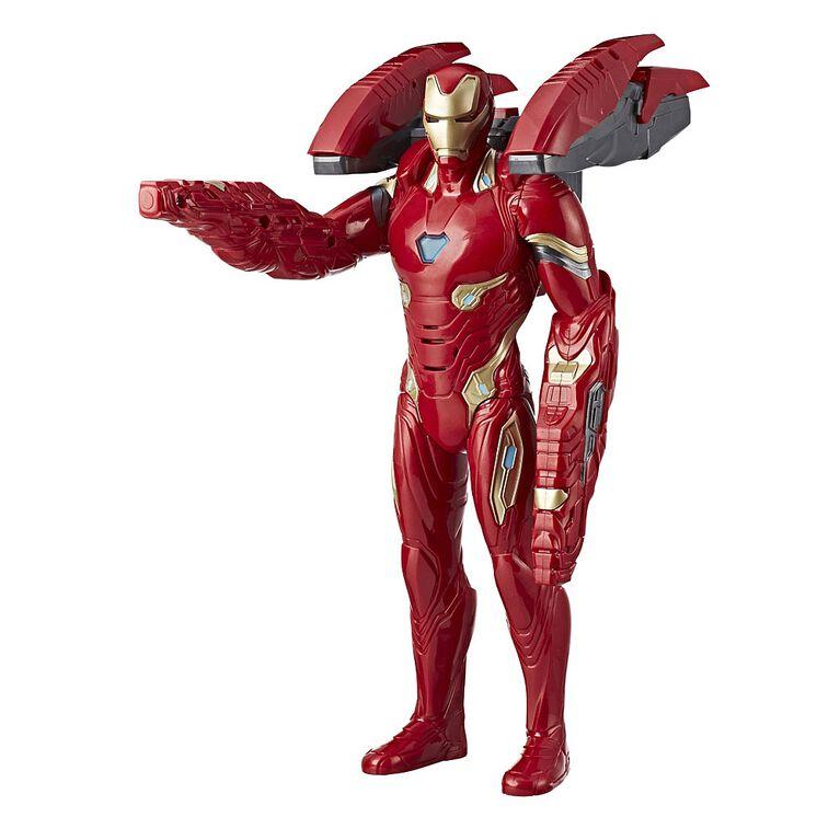 Marvel Avengers: Infinity War - Figurine Iron Man Tech de mission - Édition française.