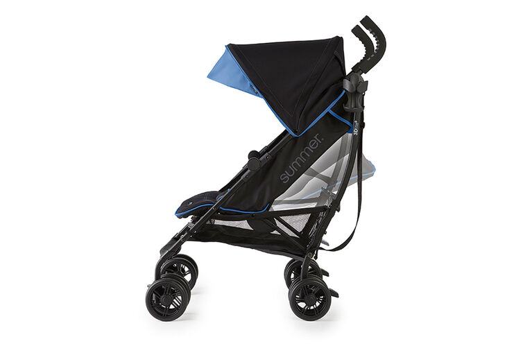 Summer Infant 3Dlite+ Ultimate Convenience Stroller - Blue Matte Black  <br>