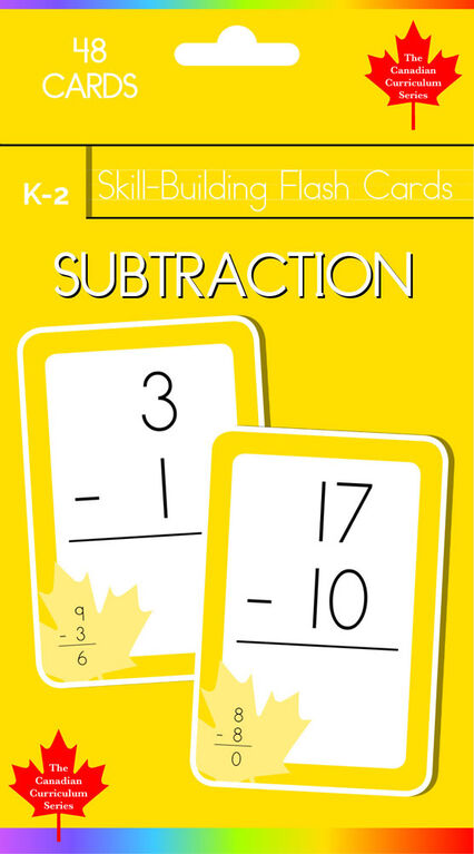 K-2 Skill Building - Subtraction - Édition anglaise