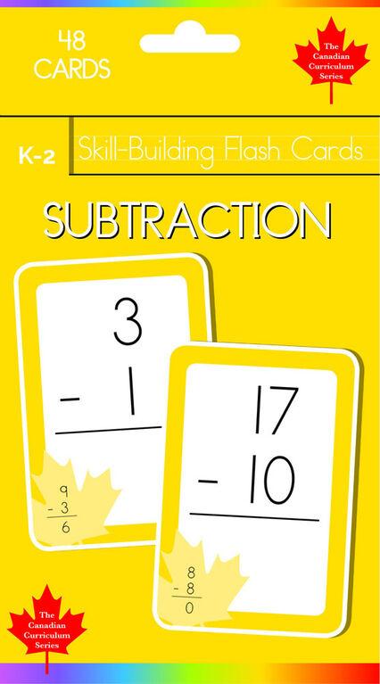K-2 Skill Building - Subtraction - English Edition
